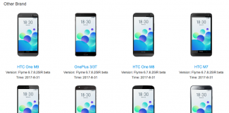Flyme 6 Meizu outras marcas