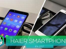 Cubierta del teléfono inteligente Haier