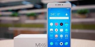 Meizu MX 6 front + box