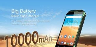 Bateria de verão OUKITEL K10000 MAX