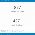 Xiaomi Mi 5X GeekBench