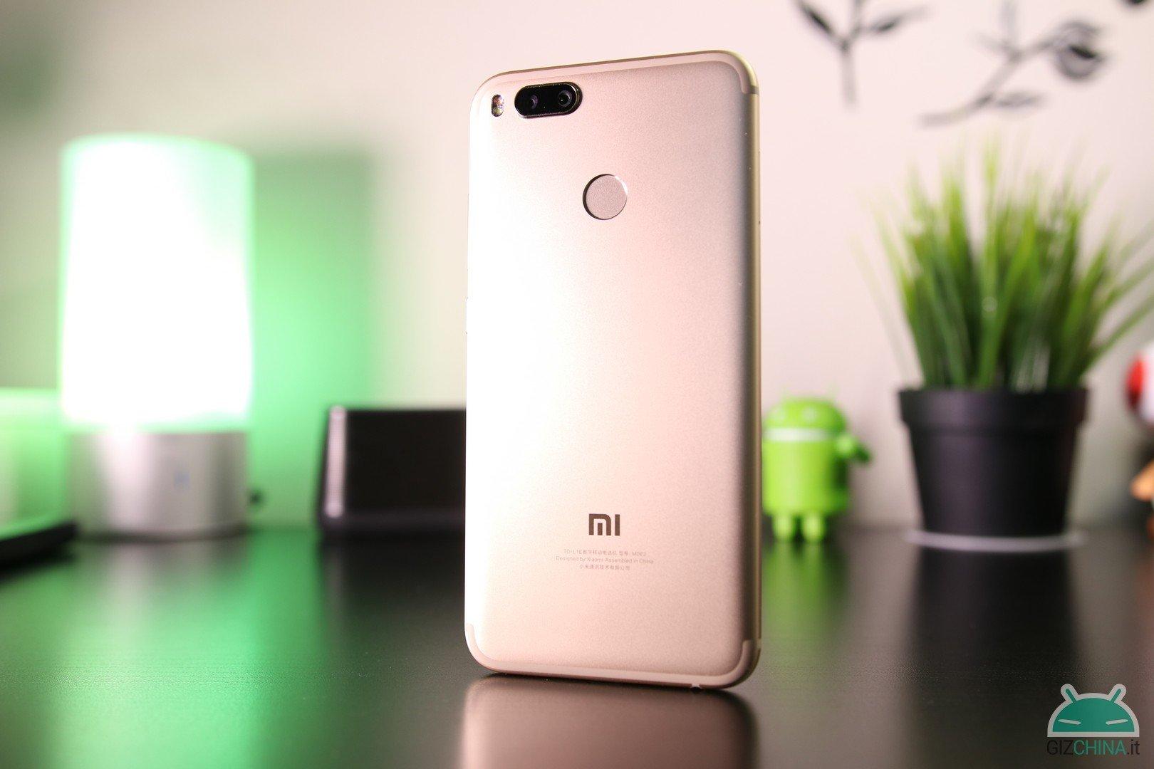 Xiaomi Mi 5X foto do telefone