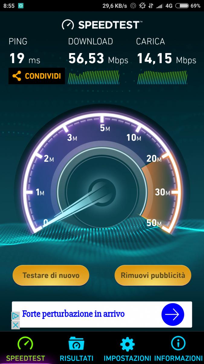 Xiaomi Mi 5X rete