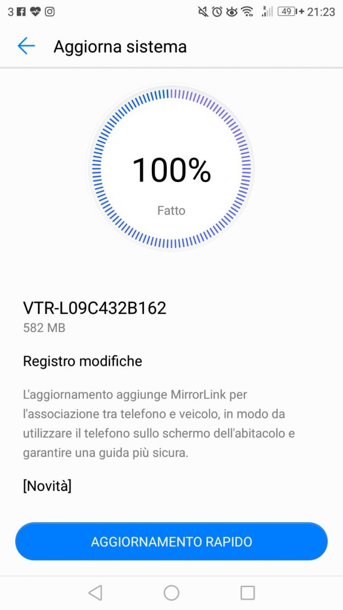 Huawei P10 updates with MirrorLink, VoLTE and VoWiFi