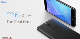 Meizu M6 Notes