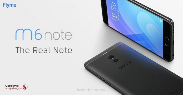 Meizu M6 Notes