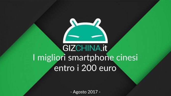 O melhor smartphone chinês entra no euro 200 - August 2017