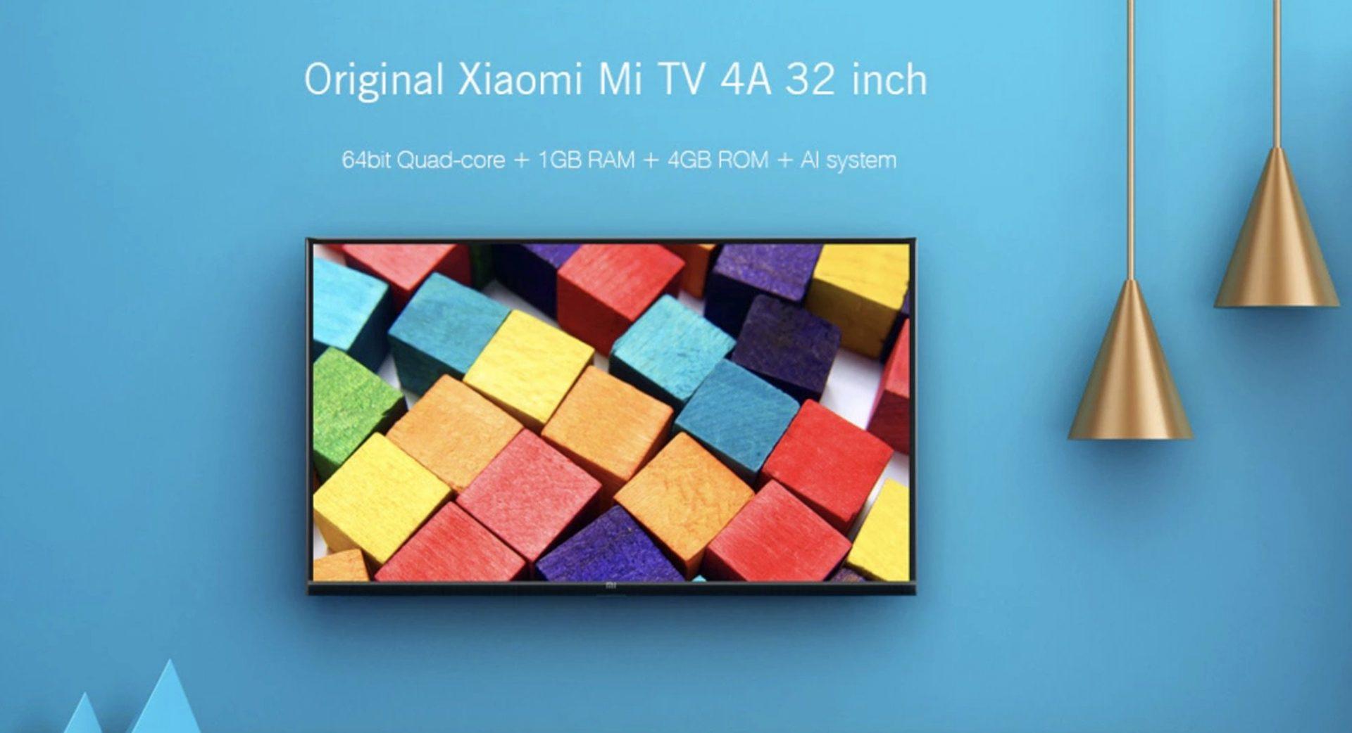 xiaomi mi tv 4a a meno di 190 euro su gearbest con. Black Bedroom Furniture Sets. Home Design Ideas