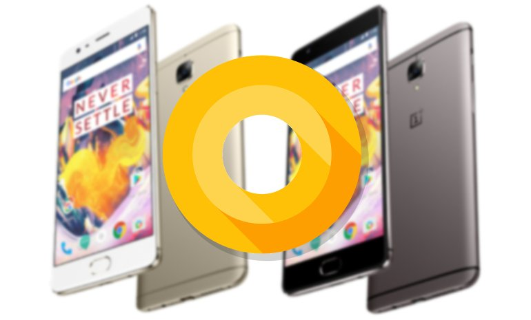 oneplus 3t android 8.0.0 oreo