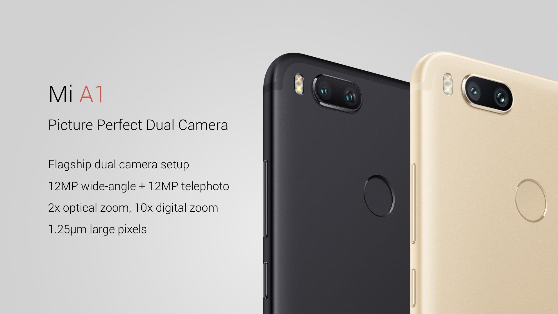 Xiaomi Mi A1 Ufficiale Prezzo Specifiche E Disponibilita