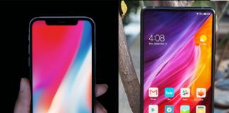Xiaomi I mix 2 iphone x