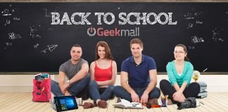 GeekMall.it De volta à escola