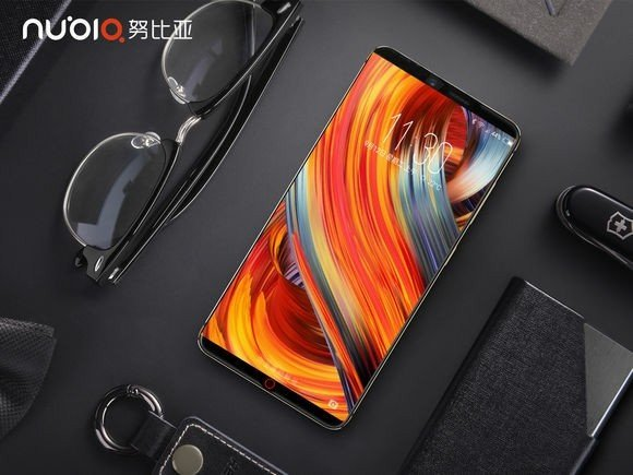 nubia Z17s - smartphone nubia sem borda