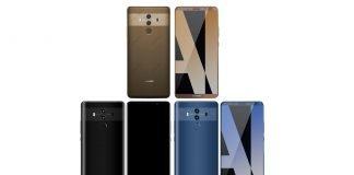 Huawei Mate 10 Pro colorazioni