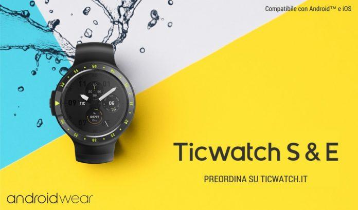 Ticwatch-Express-Ticwatch-Sport-preorder-italia