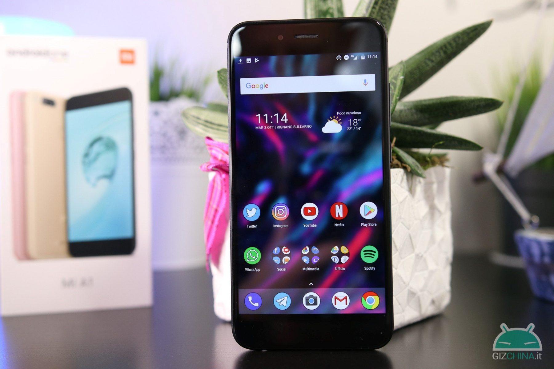 Os melhores smartphones sob o 200 euro - Xiaomi Mi A1