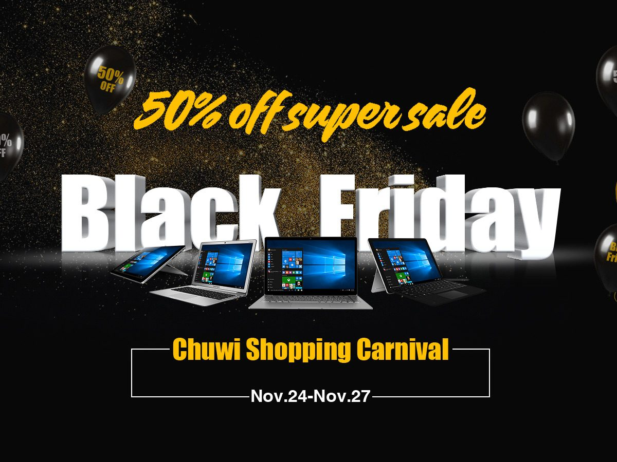 CHUWI Black Friday Promotino