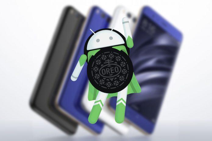 Xiaomi mnie 6 android 8.0 oreo