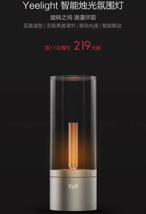 Xiaomi Yeelight Candlelight Lamp 01