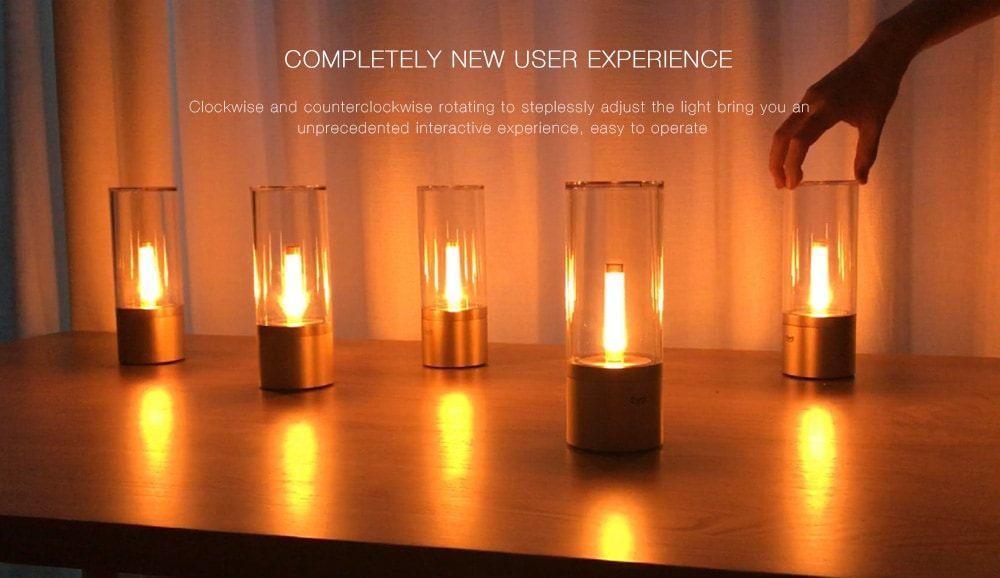 Xiaomi yeelight candlelight lamp ecco la nuova lampada smart