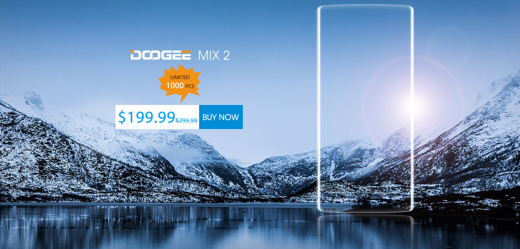 Doogee MIX: mil peças em oferta na 178,24 € na Banggood!