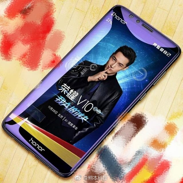 honor v10 promo immagine