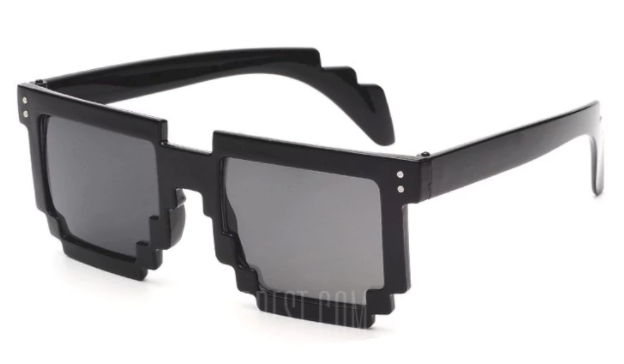 Óculos Pixel Art