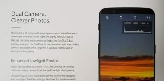 Ficha técnica do OnePlus 5T