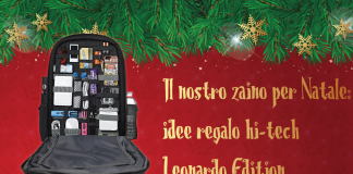 Mochila de Navidad Leonardo