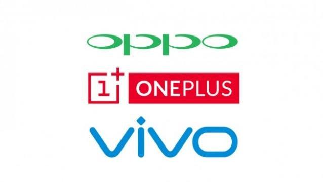 Vivo OPPO OnePlus