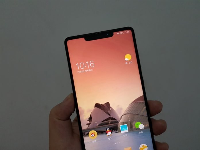 Xiaomi Mi Mix 2s photo