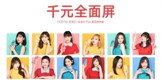 Xiaomi Redmi 5 Plus data de apresentação oficial