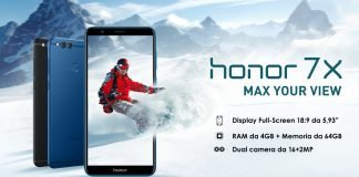 Honor 7X ufficiale banner