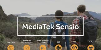mediatek sensio biosensore