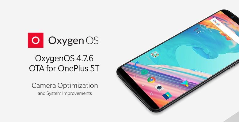 oneplus 5t oxygenos 4.7.6