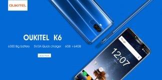 oukitel k6 nuovo banner