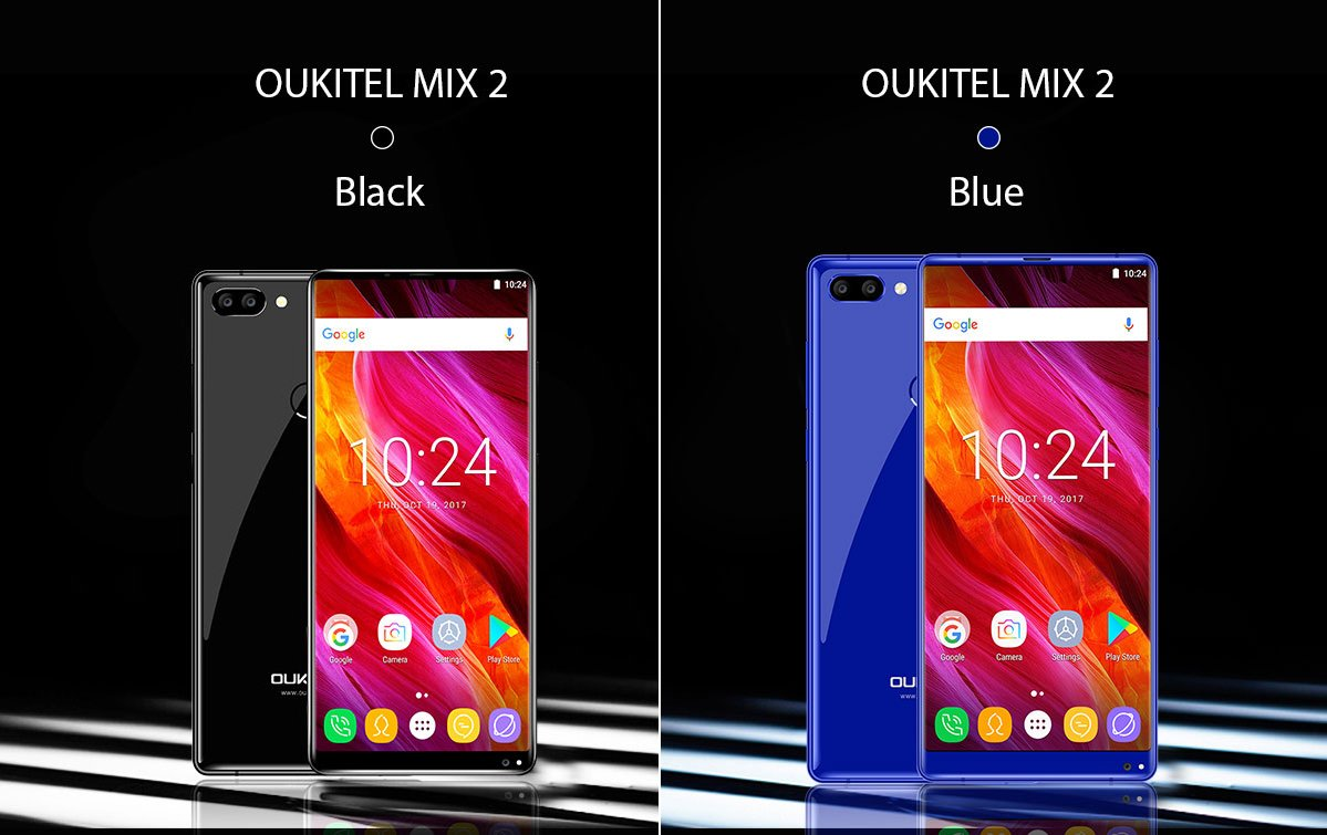 oukitel mix 2 colorazioni