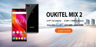 oukitel mix 2 nu banner
