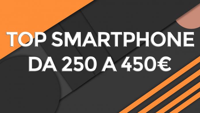 najlepszy smartfon od 250 do 450 euro
