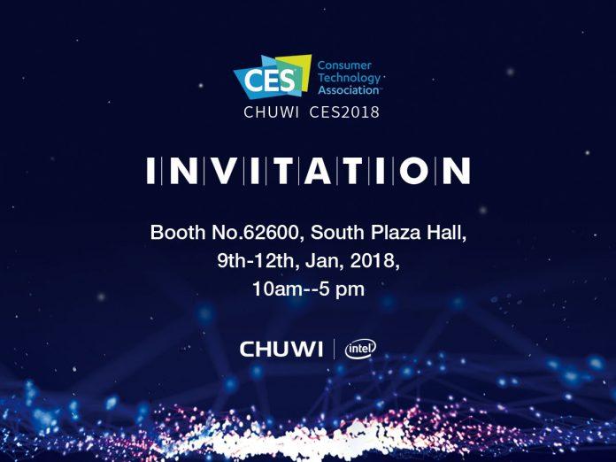 Chuwi CES 2018 Banner