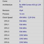 Doogee Mix 2 - CPU z