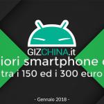 I migliori smartphone cinesi tra i 150 ed i 300 euro