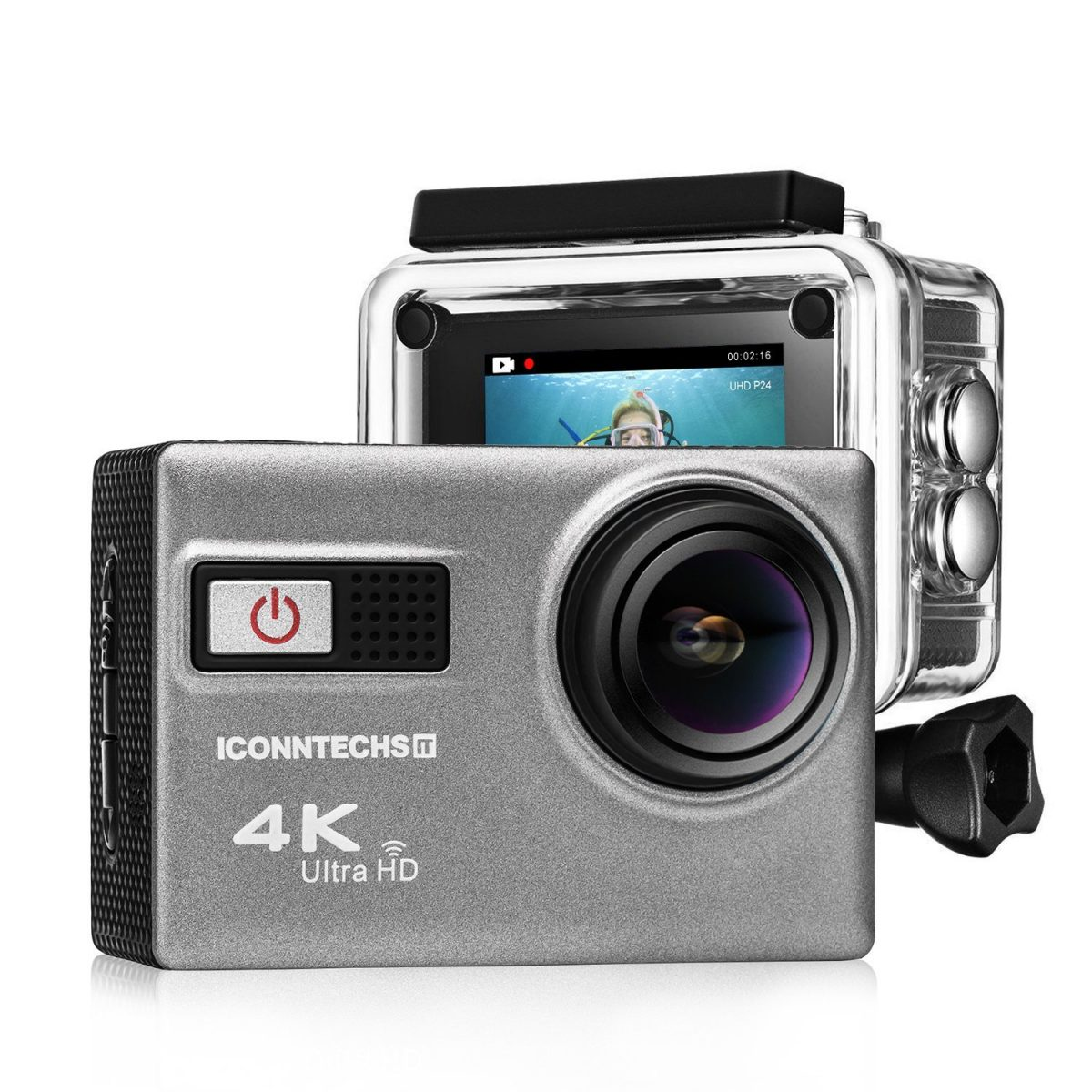 a125d0aac57ce5 ICONNTECHS IT Action Camera 4K: l'action cam arriva in offerta su Amazon  con tanto di accessori