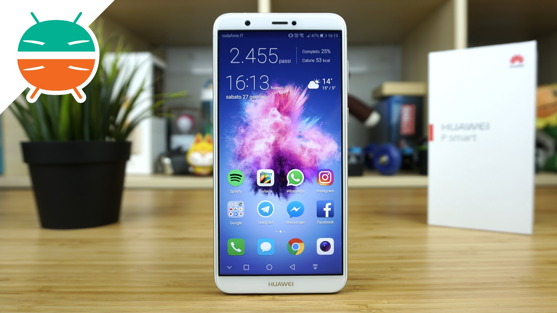 recensione huawei p smart