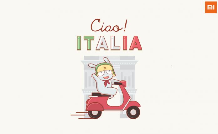 logotipo da xiaomi itália