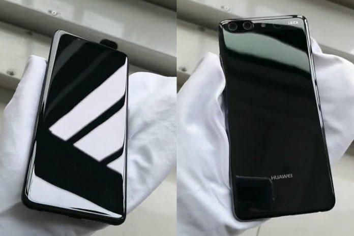 Vazamento de imagens Huawei P20