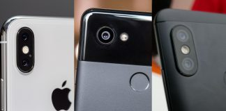 apple iphone x google pixel 2 xiaomi redmi note 5 pro