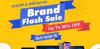 Chuwi AliExpress Brand Sale in Mar banner