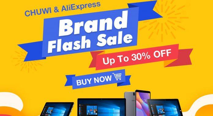 Chuwi AliExpress Brand Sale in Mar banner