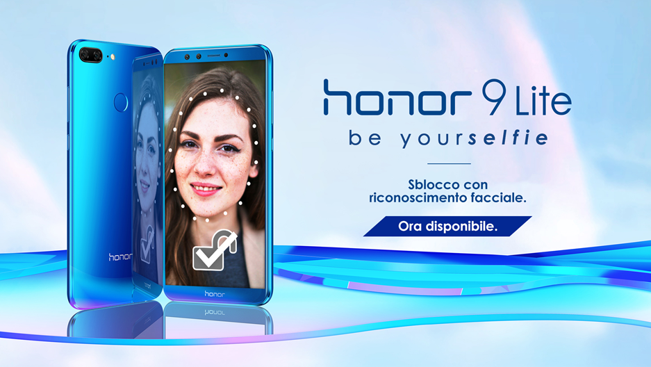 Honor 9 Lite receives the update with Face Unlock in Italy